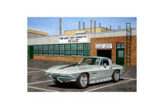 The Last Corvette - Dana Forrester Giclee Print