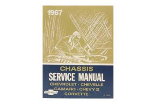 1967 Corvette Shop/Service Manual