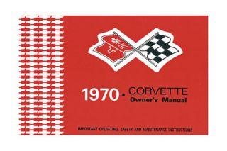 1968-1982 Corvette Owners Manual