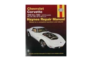 1968-1982 Corvette Haynes Owners Workshop Manual