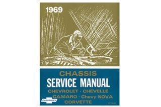 1969 Corvette Shop/Service Manual