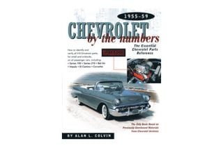 1955-1959 Corvette Chevrolet By The Numbers