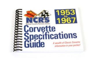 1953-1967 NCRS Pocket Specifications Guide - New Edition