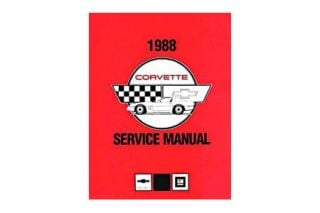 1988 Corvette Shop/Service Manual