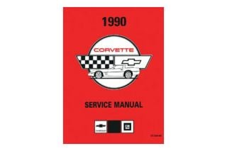 1990 Corvette Shop/Service Manual