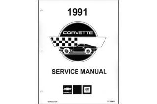 1991 Corvette Shop/Service Manual