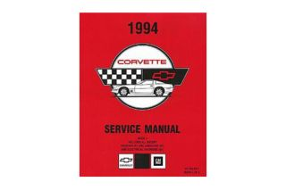 1994 Corvette Shop/Service Manual