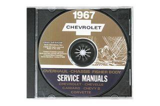 1967 Corvette Shop/Service Manual on CD