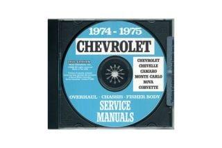 68-81 Shop/Service Manual on CD