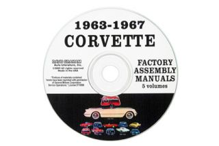1963-1967 Corvette Assembly Manuals on CD