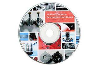 1958-60 Corvette Restoration Handbook on CD