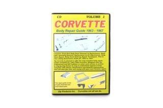 Vol 1: 63-67 Front to Cowl Body Repair Guide (CD)