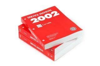 2002 Corvette GM Shop/Service Manual