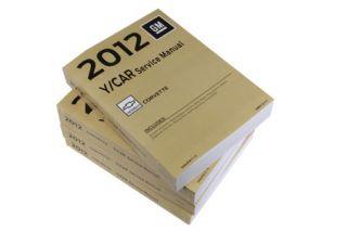 2012 Corvette GM Shop/Service Manual