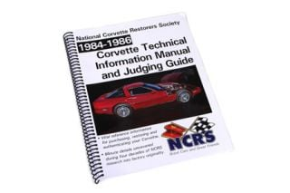1984-1986 Corvette NCRS Judging Manual (Expanded Edition)