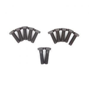 71-82 350 Intake Manifold Bolts (Black Phosphate - M Headmark)