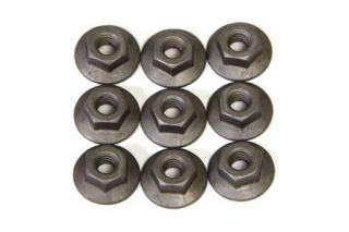 63-67 Heater/AC Fiberglass Outer Cover Flanged Nut Set