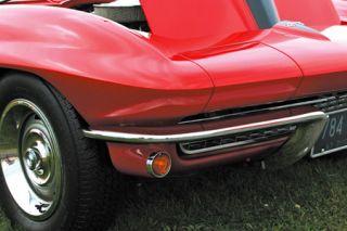 1963-1967 Corvette Front Bumper - Imported