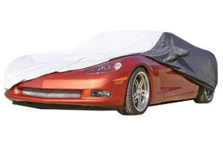 2005-2013 Corvette Weathershield Two-Tone Car Cover w/Reflective Welting