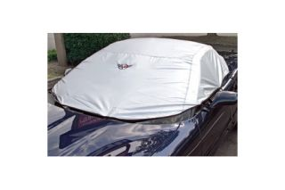 1997-2004 Corvette Conv Cockpit Cover w/ Embroidered Emblem