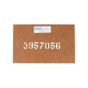 68-72 Manual Trans Driveshaft Part # Stencil