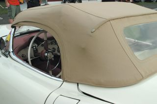 1955 Corvette Convertible Top Vinyl Kit