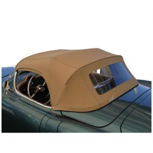 1953-1955 Corvette Convertible Top Canvas Kit (Dated)