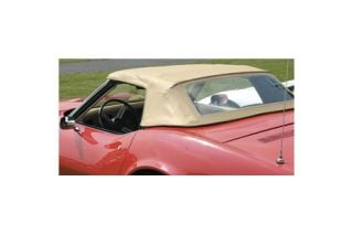 1968-1975 Corvette Convertible Top Restoration Kit - Tan (Dated)