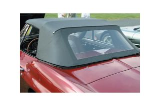 63-65E Convertible Top Assembly - Black (Dated)