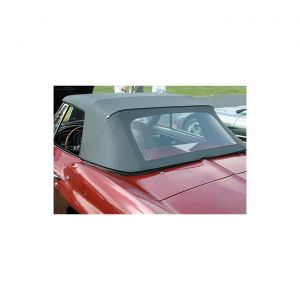 63-65E Convertible Top Assembly - White (Dated)