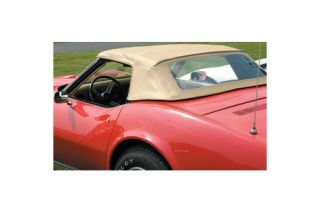 1968-1975 Corvette Convertible Top Assembly - Black
