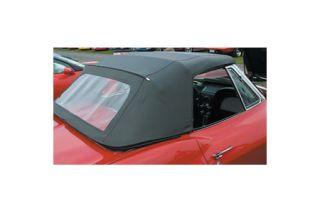 1963-1967 Corvette Convertible Top Assembly - White