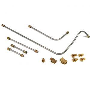 53 Fuel Pump to Carburetor Line Kit w/Fittings