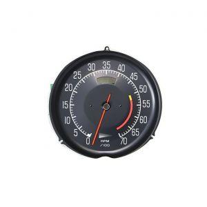 77 L82 w/AC Tachometer (5600 Redline)