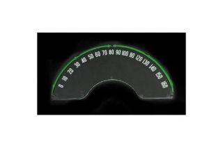 1958-1962 Corvette Speedometer Lens w/Numbers