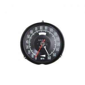 69 Speedometer w/Speed Warning