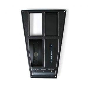 69 Auto w/AC Shifter Console Upper Trim Plate