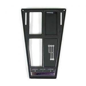 70-71 4-spd w/o AC Shifter Console Upper Trim Plate