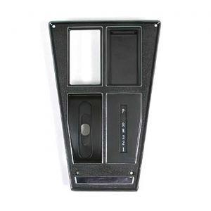 72-74 Auto w/AC Shifter Console Upper Trim Plate