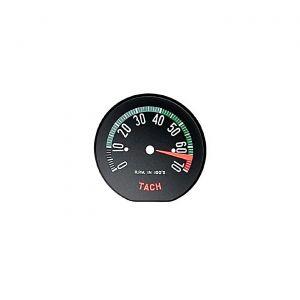 60E Tachometer Face - Hi Rpm