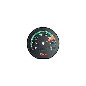 60L-61E Tachometer Face - Low Rpm