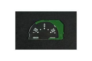 1953-1958 Corvette Ammeter Gauge Face