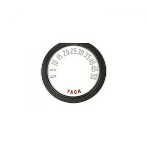 53-55 6-Cylinder Tachometer Face w/Numbers