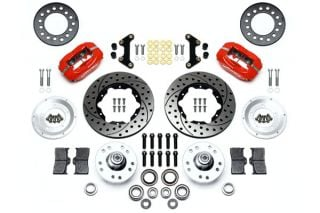"53-62 Wilwood Front Dynalite Brake Kit w/SRP Drilled & Slotted 11"" Rotor (BrakeColor)"