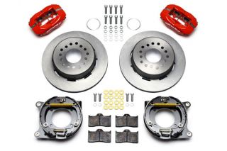 "56-62 Wilwood Rear Dynalite Brake Kit w/11"" HP Rotor (BrakeColor)"