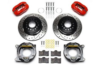 "56-62 Wilwood Rear Dynalite Brake Kit w/12.19"" Drilled/Slotted Rotor"