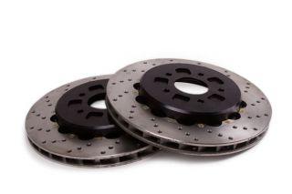 14-18 Z51 Rear 2pc Drilled Brake Rotors w/Park Brake Provision