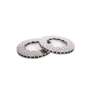 14-19 Z51 Front 2pc Drilled Replacement Rotor Rings