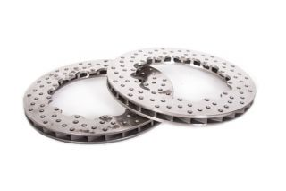 14-19 Z51 Rear 2pc Drilled Replacement Rotor Rings