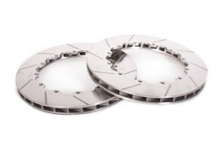 14-19 Z51 Rear 2pc Slotted Replacement Rotor Rings